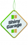 SHINY GARAGE SQUARE AIR FRESHENER - CYNAMON&JABŁKO