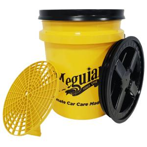 Meguiar's Professional Wash Bucket Combo – Yellow-Black