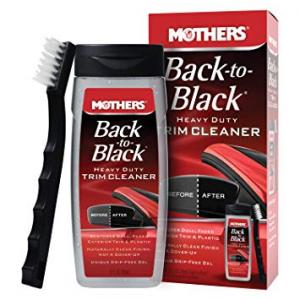 MOTHERS Back-to-Black Heavy Duty Trim Cleaner KIT 355 ml