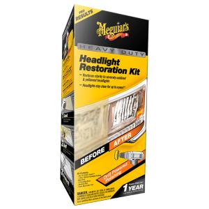 MEGUIARS Heavy Duty Headlight Restoration Kit Nev